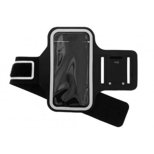 Sportarmband voor de iPhone 12 5.4 inch - Zwart