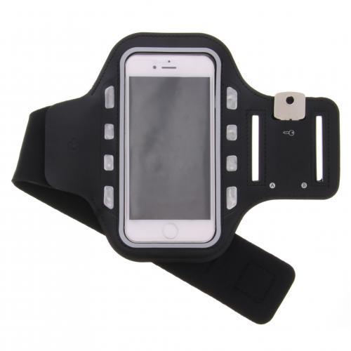 Sportarmband voor de Samsung Galaxy A12 - Zwart