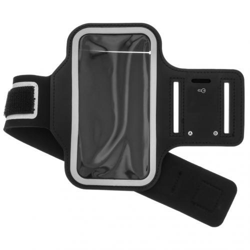 Sportarmband voor de Samsung Galaxy A42 - Zwart