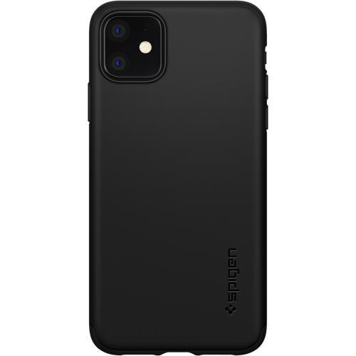 Thin Fit 360° Backcover voor de iPhone 11 - Zwart