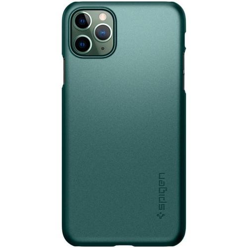 Thin Fit Backcover voor de iPhone 11 Pro Max - Groen