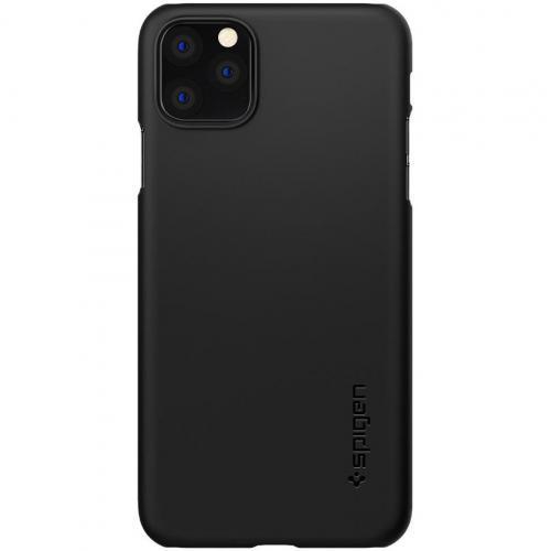 Thin Fit Backcover voor de iPhone 11 Pro Max - Zwart