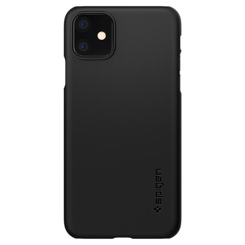 Thin Fit Backcover voor de iPhone 11 - Zwart