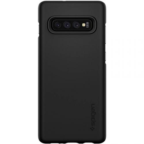 Thin Fit Backcover voor Samsung Galaxy S10 Plus - Zwart