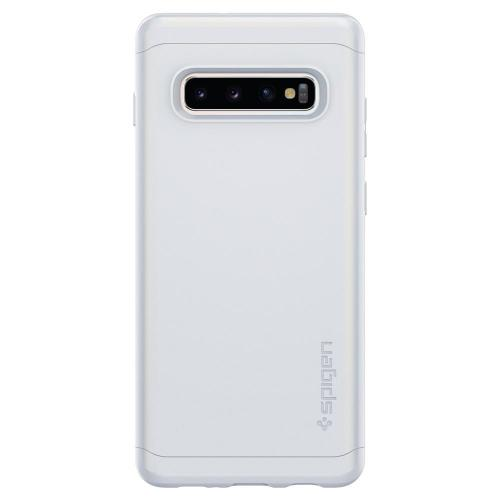 Thin Fit Classic Backcover voor de Samsung Galaxy S10 Plus - Wit