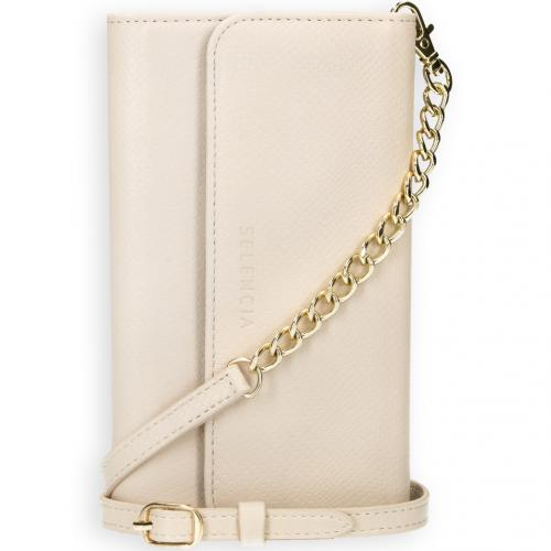 Tierra Uitneembare Slang Clutch voor de iPhone 12 Mini - Wit