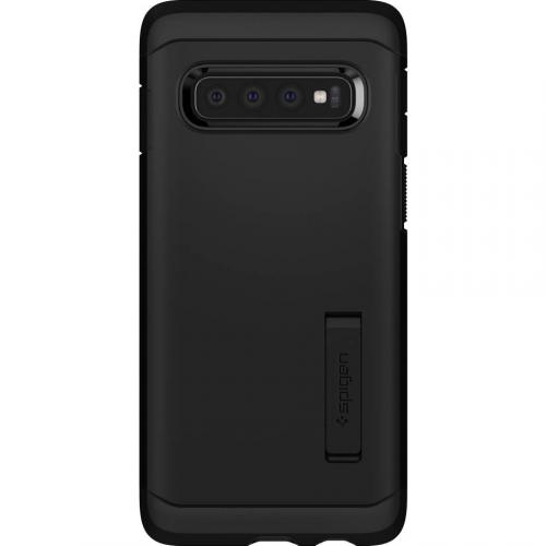 Tough Armor Backcover voor Samsung Galaxy S10 Plus - Zwart