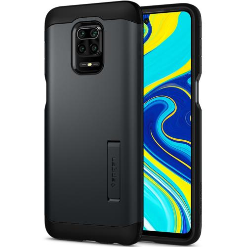 Tough Armor Backcover voor Xiaomi Redmi Note 9 Pro / 9S - Grijs