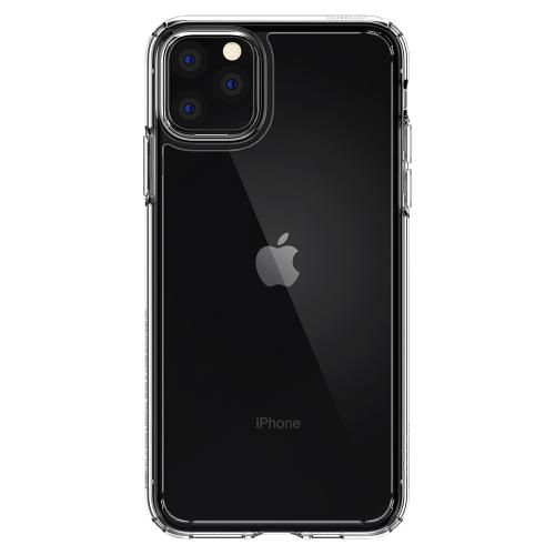 Ultra Hybrid Backcover voor de iPhone 11 Pro Max - Transparant