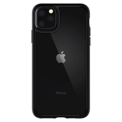 Ultra Hybrid Backcover voor de iPhone 11 Pro Max - Zwart