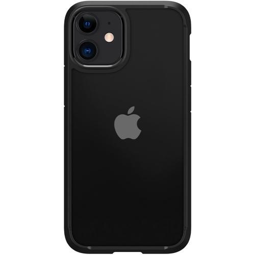 Ultra Hybrid Backcover voor de iPhone 12 Mini - Zwart