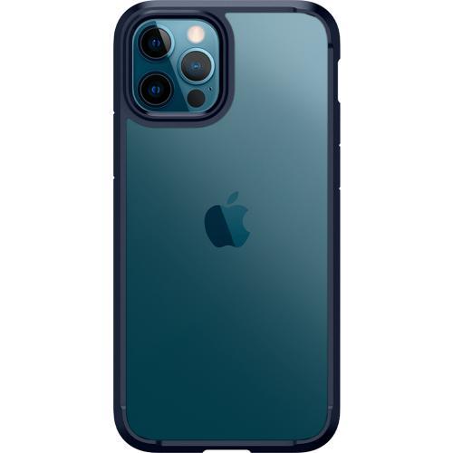 Ultra Hybrid Backcover voor de iPhone 12 (Pro) - Donkerblauw