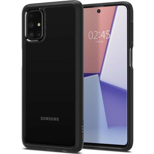 Ultra Hybrid Backcover voor de Samsung Galaxy M31s - Zwart
