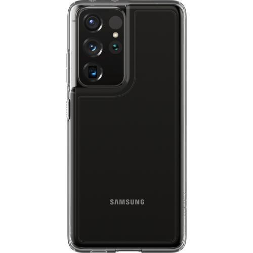 Ultra Hybrid Backcover voor de Samsung Galaxy S21 Ultra - Transparant