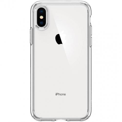 Ultra Hybrid Backcover voor iPhone X / Xs - Transparant
