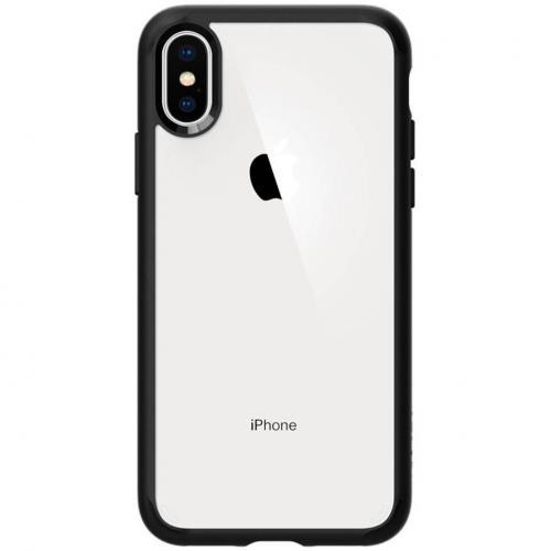 Ultra Hybrid Backcover voor iPhone X / Xs - Zwart