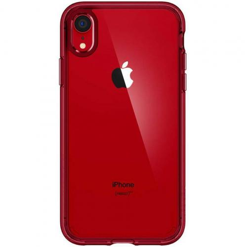 Ultra Hybrid Backcover voor iPhone Xr - Rood