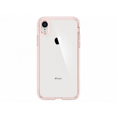 Ultra Hybrid Backcover voor iPhone Xr - Rosé goud