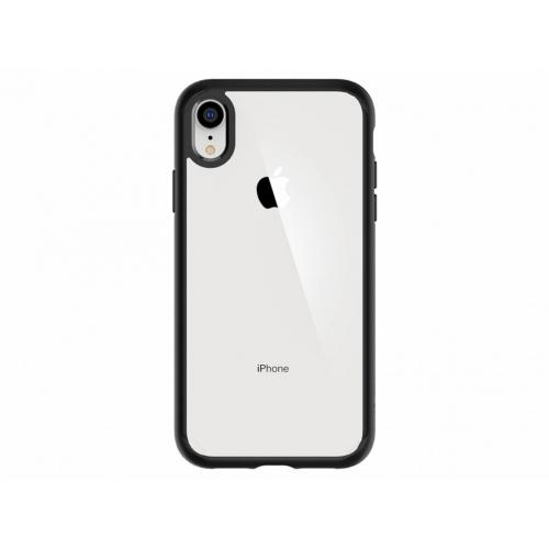 Ultra Hybrid Backcover voor iPhone Xr - Zwart