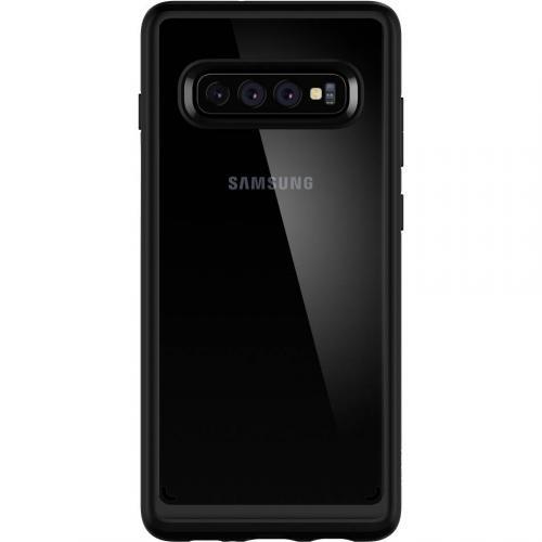 Ultra Hybrid Backcover voor Samsung Galaxy S10 Plus - Zwart