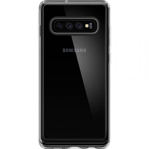 Ultra Hybrid Backcover voor Samsung Galaxy S10 - Transparant