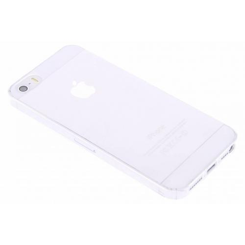Ultra Thin Transparant Backcover voor iPhone SE / 5 / 5s - Transparant