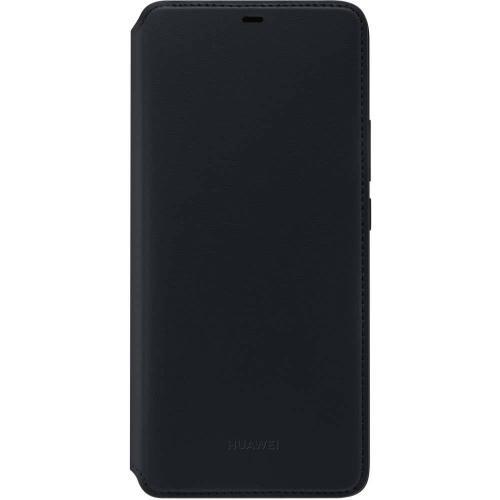 Wallet Booktype voor de Huawei Mate 20 Pro - Zwart