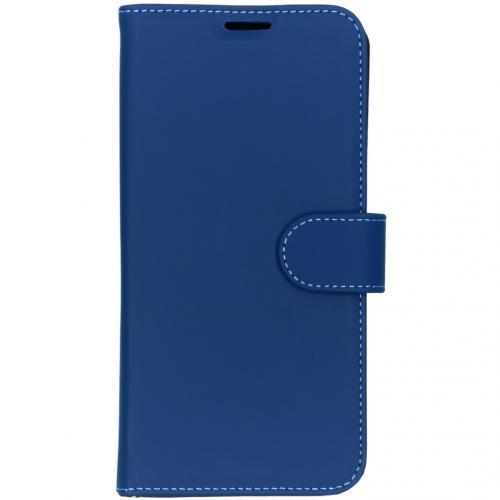 Wallet Softcase Booktype voor de OnePlus 7 - Donkerblauw