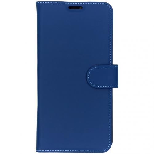 Wallet Softcase Booktype voor de OnePlus 7 Pro - Donkerblauw