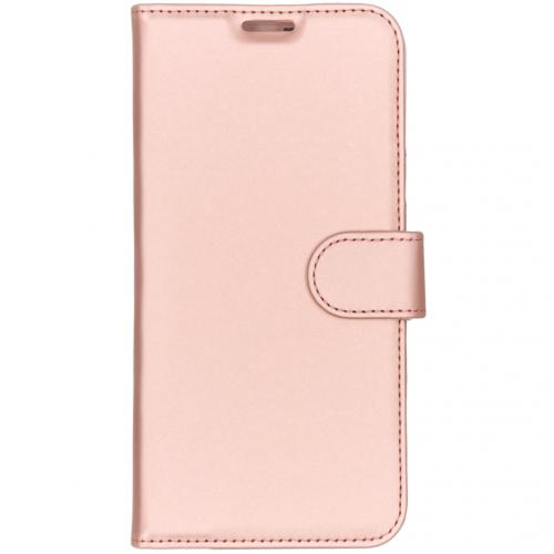 Wallet Softcase Booktype voor de OnePlus 7 - Rosé Goud