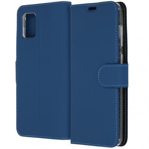 Wallet Softcase Booktype voor de Samsung Galaxy A31 - Blauw