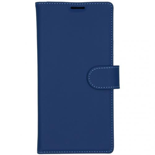 Wallet Softcase Booktype voor de Samsung Galaxy Note 10 Plus - Blauw