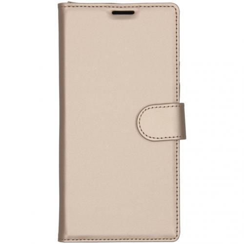 Wallet Softcase Booktype voor de Samsung Galaxy Note 10 Plus - Goud