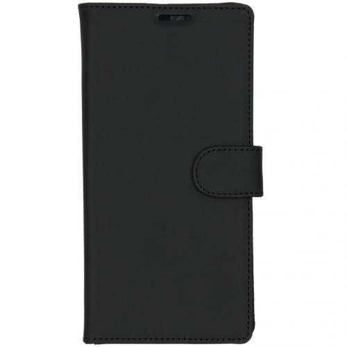 Wallet Softcase Booktype voor de Samsung Galaxy Note 10 Plus - Zwart