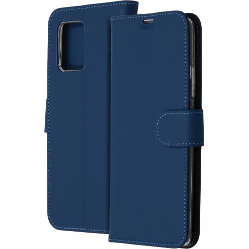 Wallet Softcase Booktype voor de Samsung Galaxy S10 Lite - Blauw