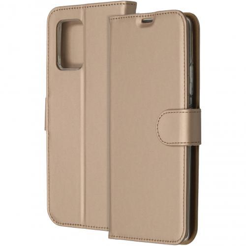 Wallet Softcase Booktype voor de Samsung Galaxy S10 Lite - Goud