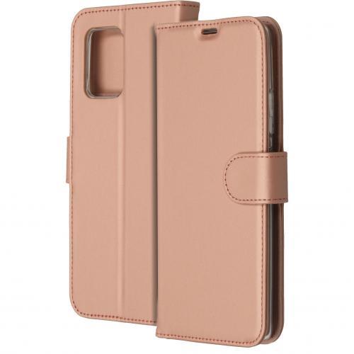 Wallet Softcase Booktype voor de Samsung Galaxy S10 Lite - Rosé Goud