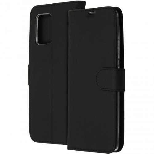 Wallet Softcase Booktype voor de Samsung Galaxy S10 Lite - Zwart