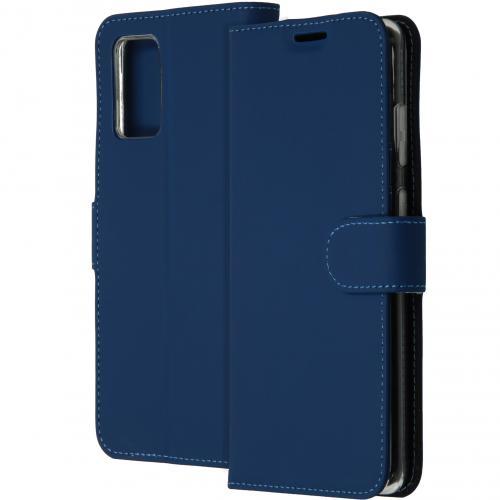 Wallet Softcase Booktype voor de Samsung Galaxy S20 Plus - Blauw
