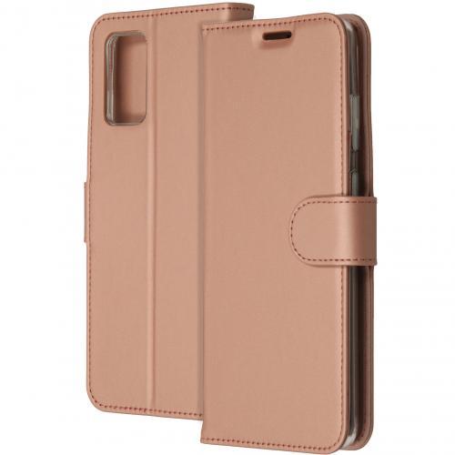 Wallet Softcase Booktype voor de Samsung Galaxy S20 Plus - Rosé Goud