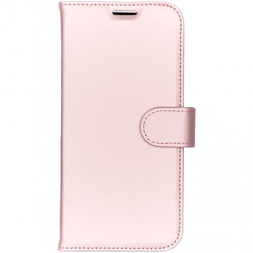 Wallet Softcase Booktype voor iPhone Xs Max - Rosé goud