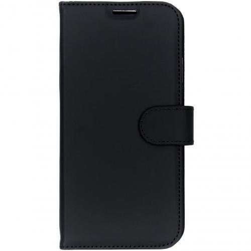 Wallet Softcase Booktype voor iPhone Xs Max - Zwart
