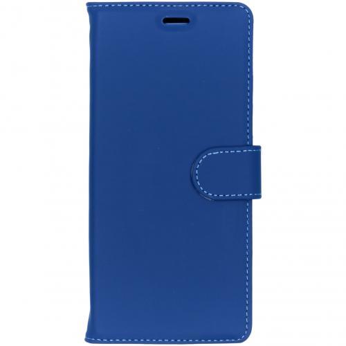 Wallet Softcase Booktype voor Samsung Galaxy Note 8 - Donkerblauw