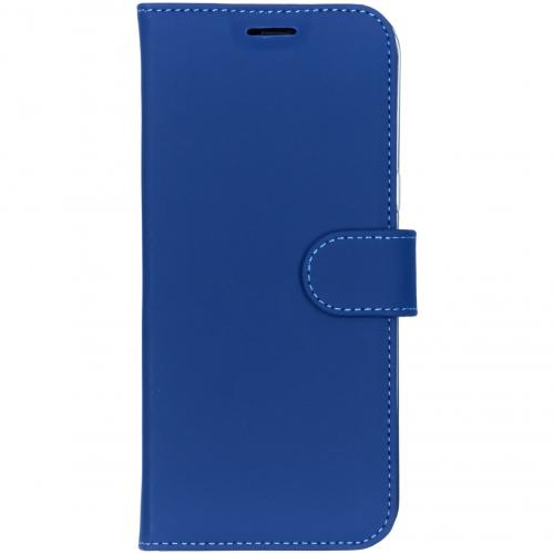 Wallet Softcase Booktype voor Samsung Galaxy S8 Plus - Donkerblauw