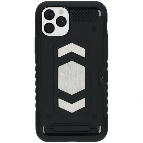 Xtreme Backcover met pashouder voor de iPhone 11 Pro - Zwart