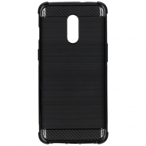 Xtreme Softcase Backcover voor de OnePlus 7 - Zwart