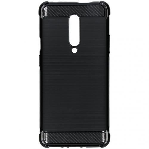 Xtreme Softcase Backcover voor OnePlus 7 Pro - Zwart