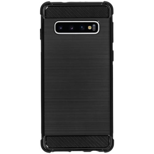 Xtreme Softcase Backcover voor Samsung Galaxy S10 - Zwart
