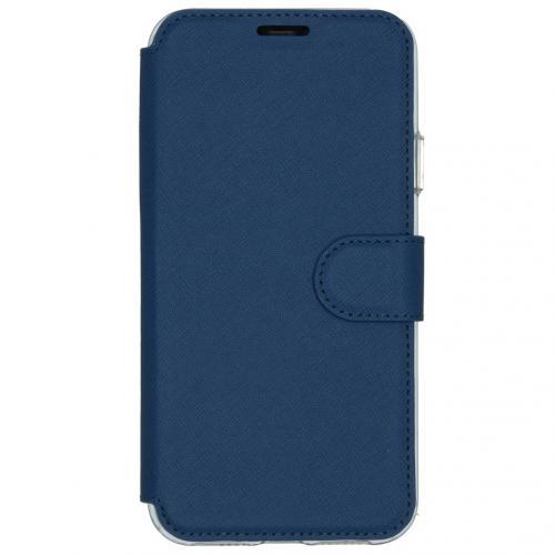 Xtreme Wallet Booktype voor de iPhone 11 Pro Max - Blauw