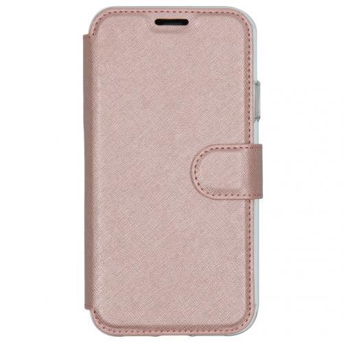 Xtreme Wallet Booktype voor de iPhone 11 - Rosé Goud